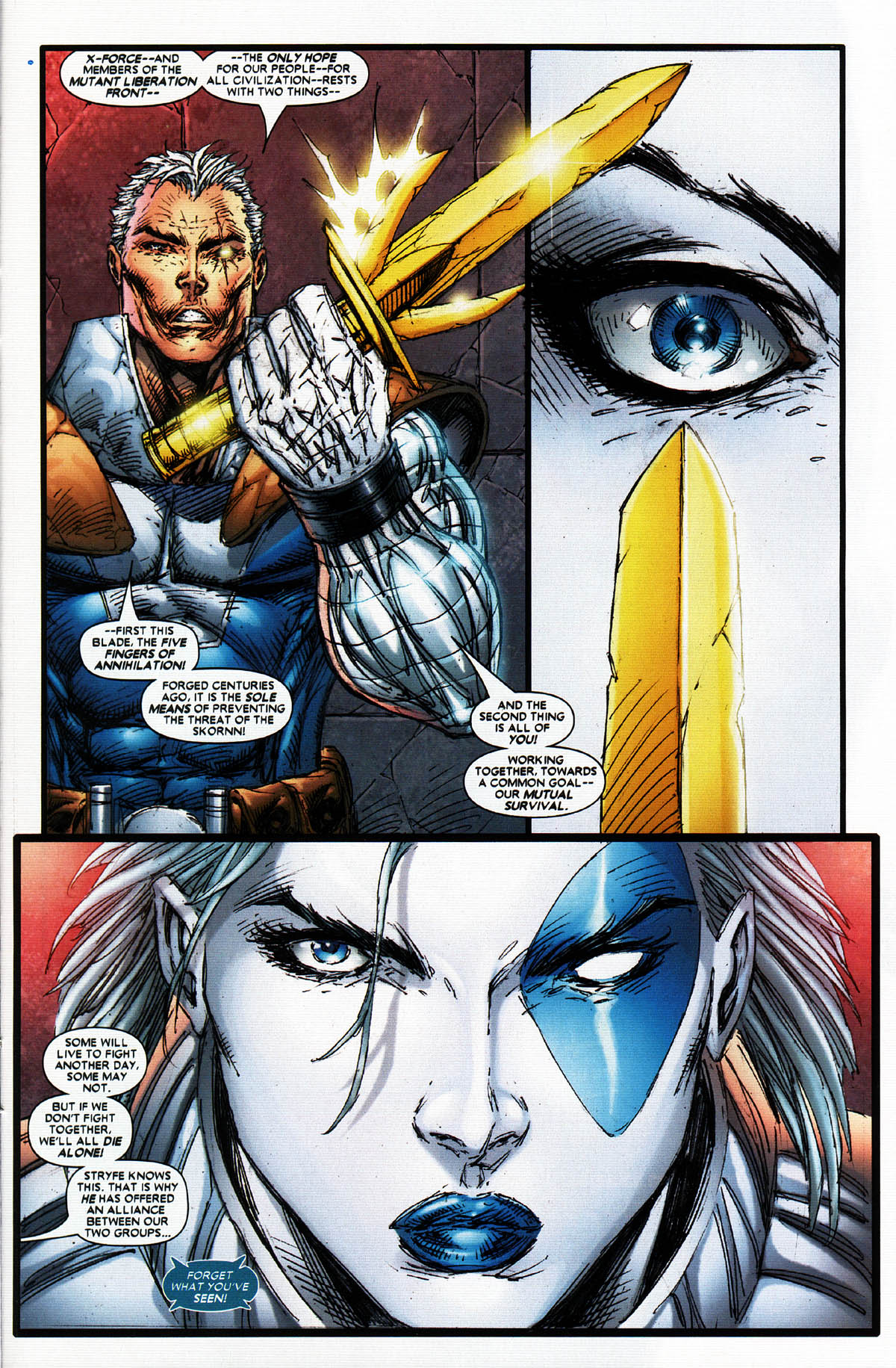 Read online X-Force (2004) comic -  Issue #5 - 27