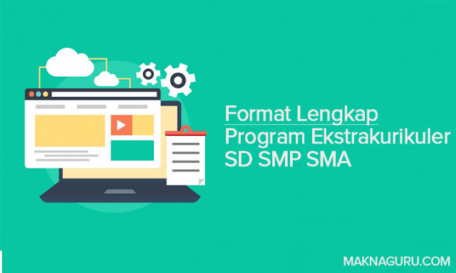 Format Lengkap Program Ekstrakurikuler SD SMP SMA