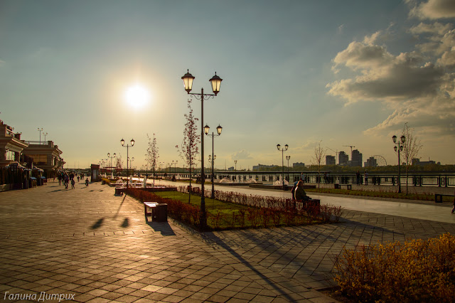 Набережная в Казани