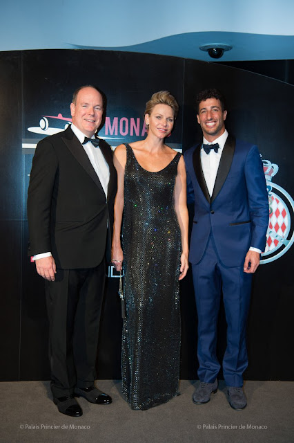Princess Charlene Grand Prix gala