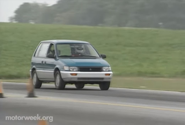 1992 Mitsubishi Expo LRV MotorWeek Review