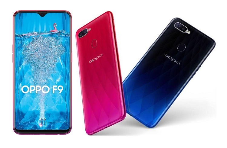 OPPO F9 Launches in Thailand; Specs Revealed!