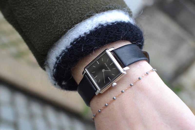 montre noir Isabel Marant