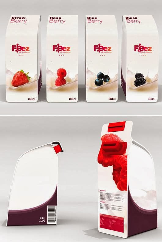 15 Clever and Creative Milk Packaging Designs.