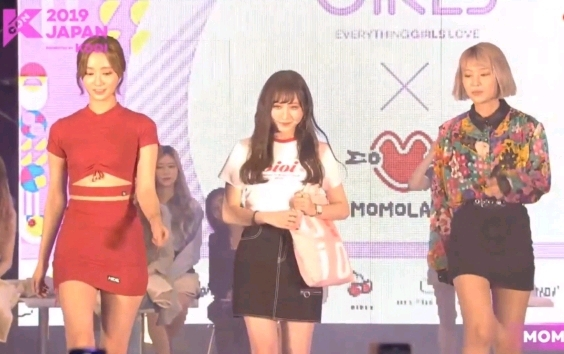 KCON 2019 JAPAN에 참석한 모모랜드 연우
