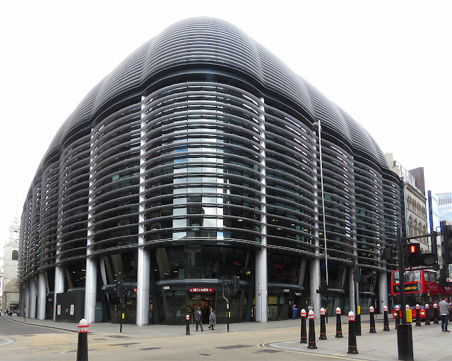 The Walbrook Building by Foster + Partners, Walbrook, City of London, London