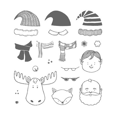 Jolly Friends stamp set Stampin' Up!