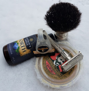 Master Barber CM0690 Classic Safety Razor Shave of The Day