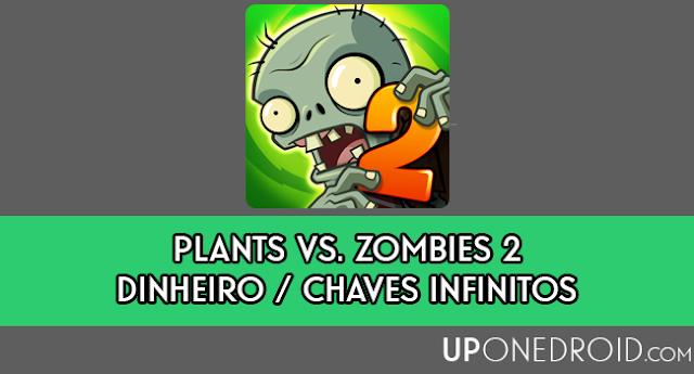 Plants vs. Zombies 2 MOD HACK APK (Dinheiro Infinito / Chaves Infinitas)