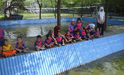kegiatan edukasi perikanan di alas prambon sidoarjo