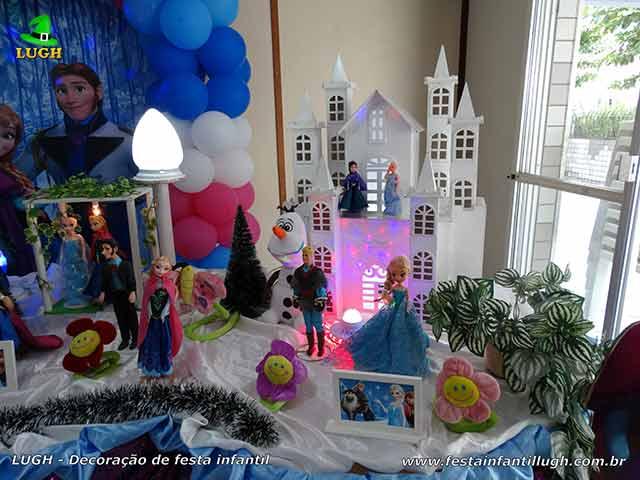 Tema Frozen - aniversário infantil
