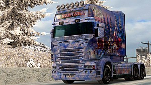 New Year 2016 paint job for Scania RJL