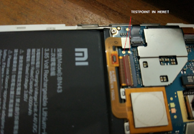 test point Xiaomi Redmi Note 4 Mido