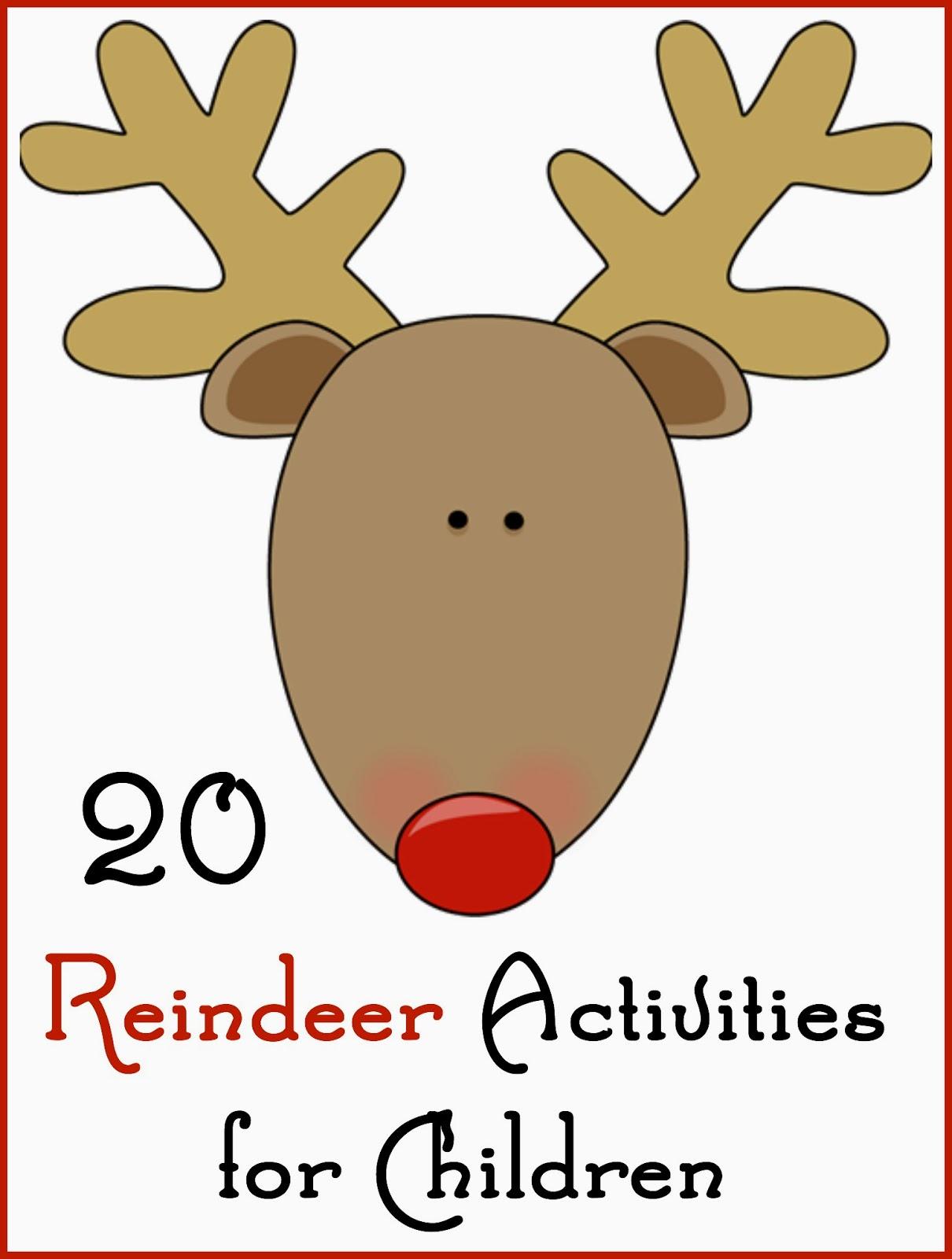 Reindeer Fun For Children
