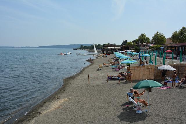 Bracciano beach