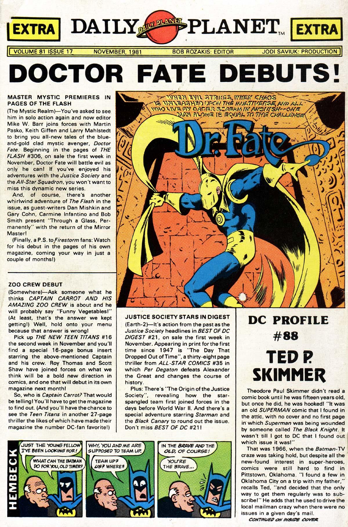 Read online World's Finest Comics comic -  Issue #276 - 52