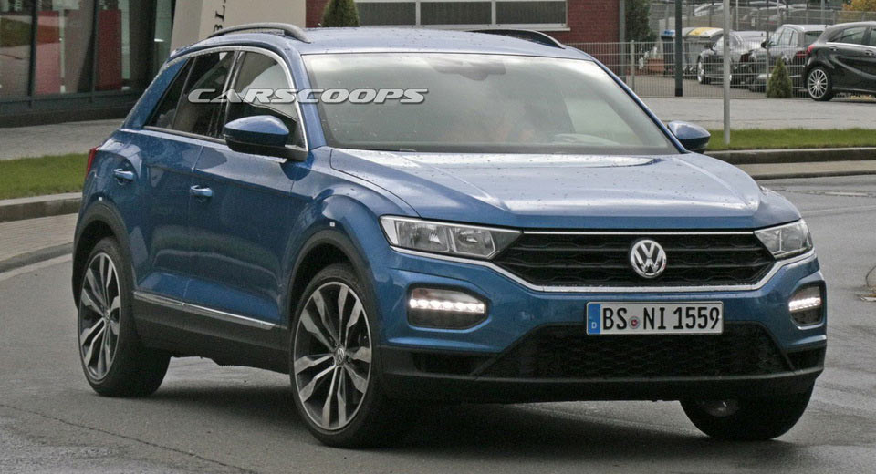 vw will make 306hp t roc r hot suv the most agile in class. Black Bedroom Furniture Sets. Home Design Ideas
