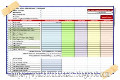 [ Format DOC - DOCX Microsoft Word ] RKS 4 Tahunan Kerja Kepala Sekolah