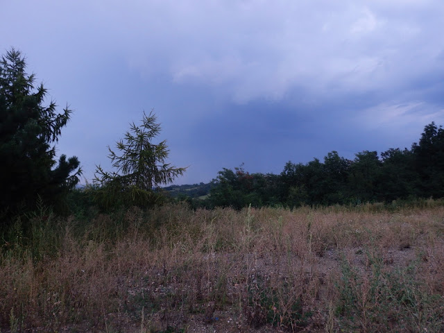 Pogoda do złudzenia przypomina tę z 2014, kiedy wjeżdżaliśmy tędy na Węgry