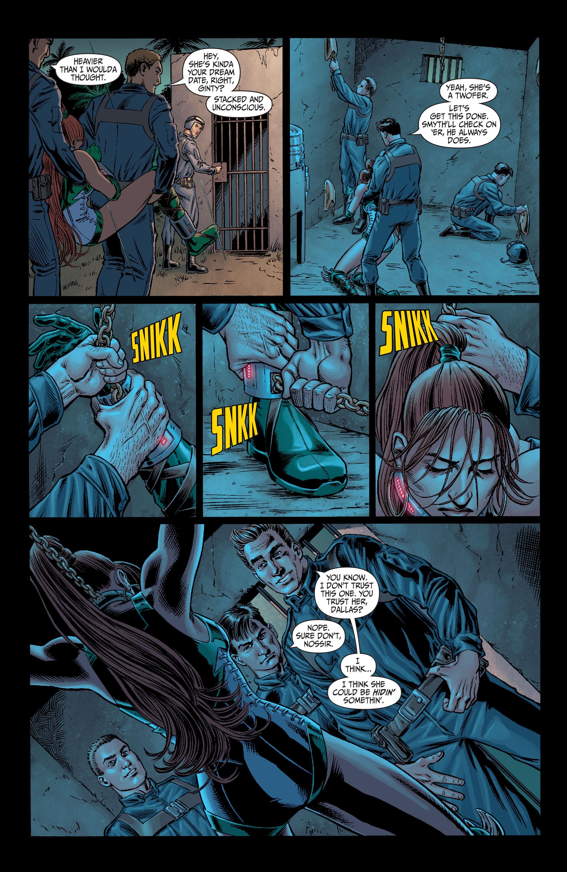 Read online Secret Six (2008) comic -  Issue #11 - 8