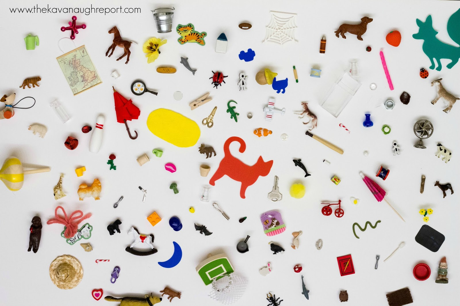 our montessori language objects