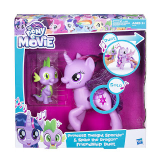 My Little Pony The Movie Princess Twilight Sparkle and Spike the Dragon Friendship Duet Set