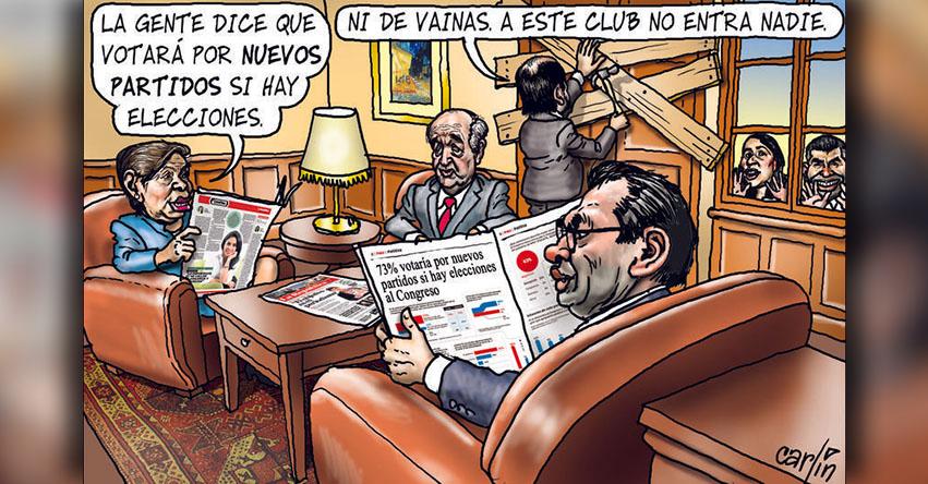 Carlincaturas Lunes 23 Octubre 2017 - La República