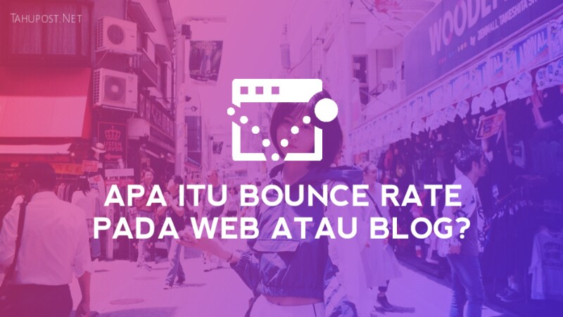 bounce rate pada blog