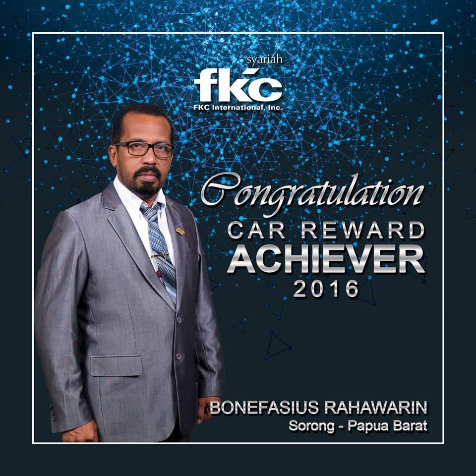 Bisnis Fkc Syariah - Reward Bonefasius Rahawarin