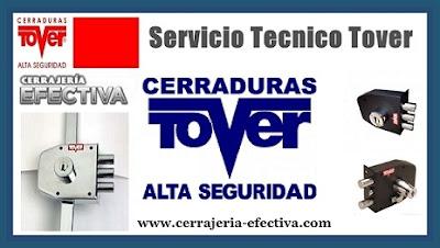 Servicio Técnico Cerraduras Tover Barcelona