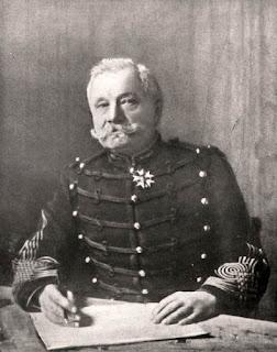 Le Lieutenant-colonel DEPORT, inventeur du canon de 75