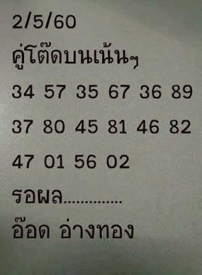 เลขเด่นบน  34  57  35  67  36  89  37 80  45  81  46  82  47  01  56  02