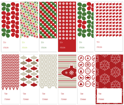 Gift+Tags+Post - 30+ FREE Christmas Printables