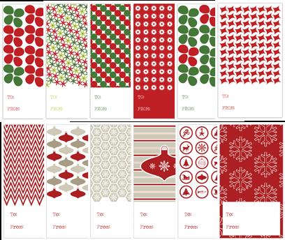Gift+Tags+Post - 30+ FREE Christmas Printables