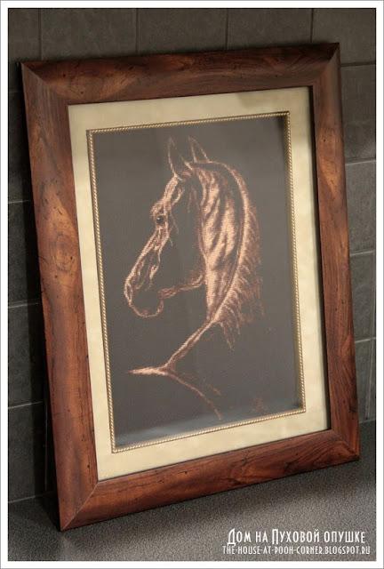 Вышивка лошади Золотое руно С-004 Фаворит