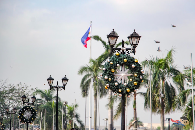 "Rizal Park (formerly ""Luneta Park) in the heart of Manila"
