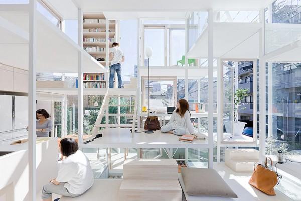 modern house transparent house design-4