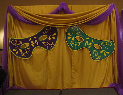 Party People Event Decorating Company Mulberry High Mardi Gras Prom