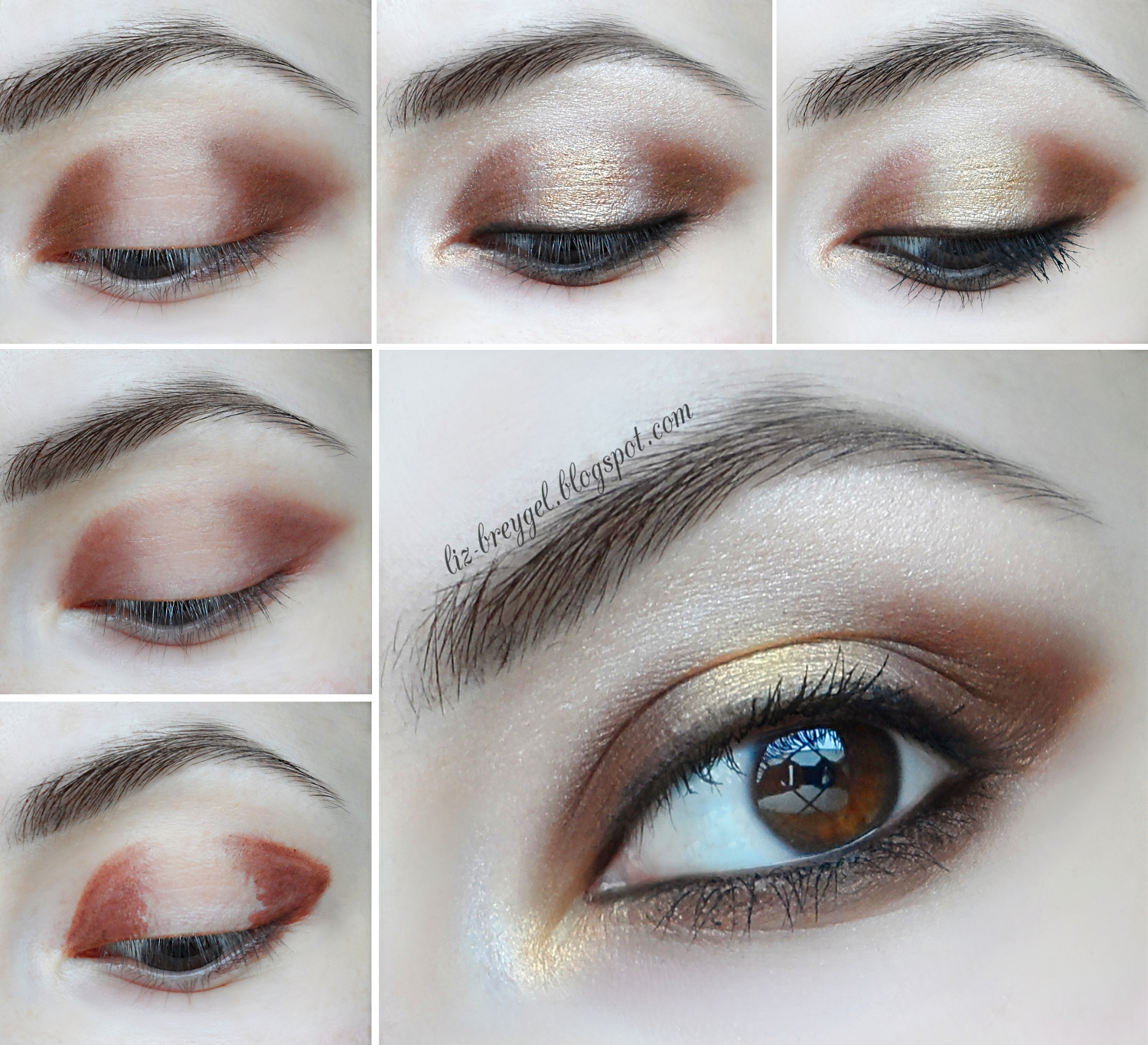 how to make brown eyes look good in pictures