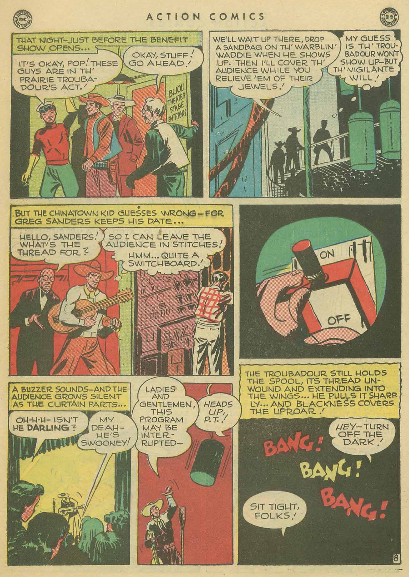 Read online Action Comics (1938) comic -  Issue #102 - 37