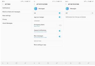 Cara mengatur nada notifikasi SMS khusus per kontak di Galaxy S8, S9, dan Note 8, Begini cara mudahnya