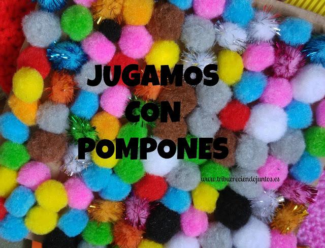 Jugamos con pompones