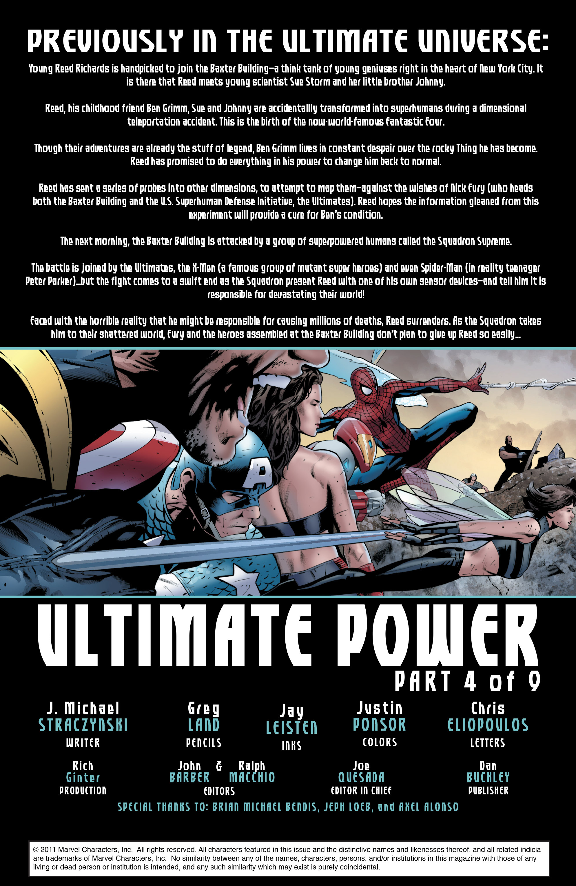 Read online Ultimate Power comic -  Issue #4 - 2