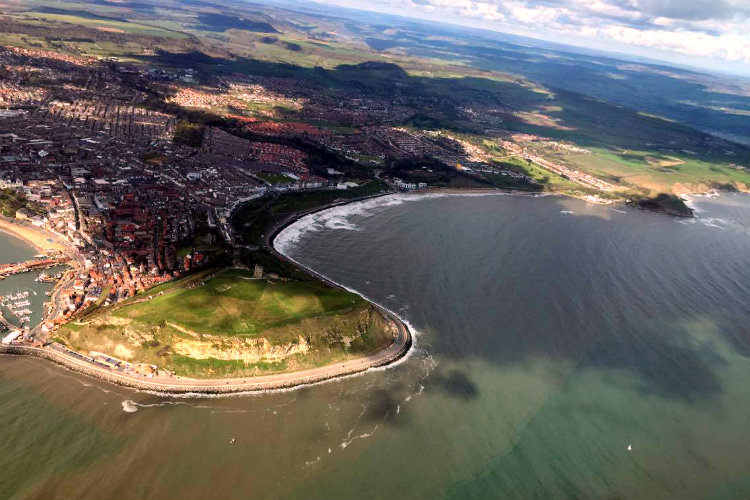 Aerial Photo of Scarborough