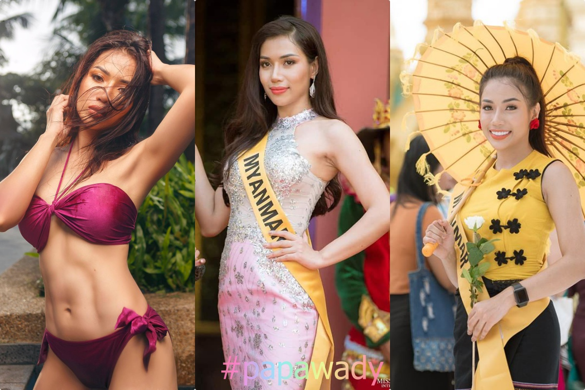 Miss Grand Myanmar 2018 Su Myat Phoo Photos Collection
