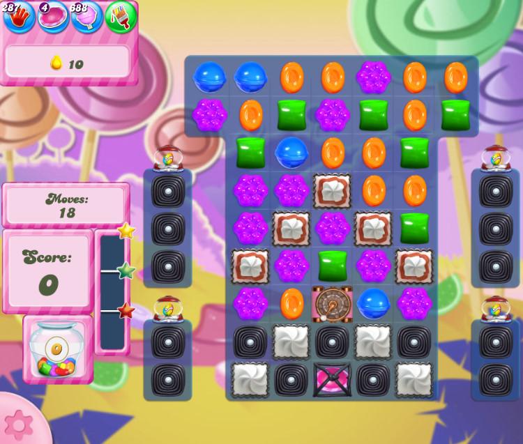 Candy Crush Saga level 2760