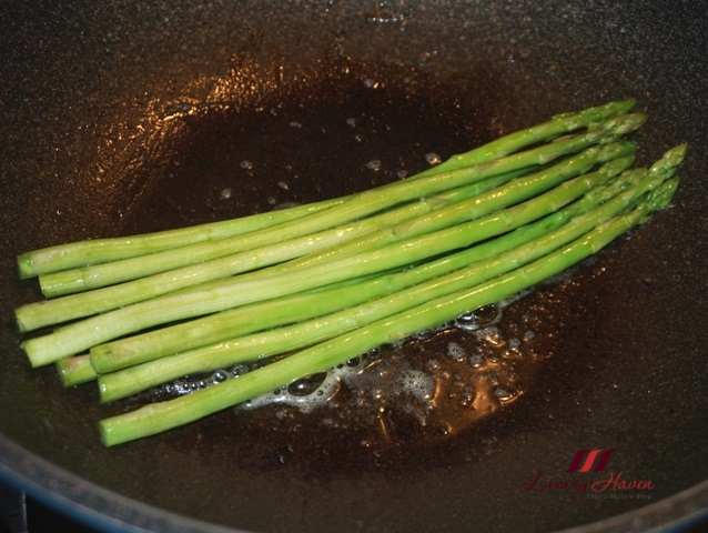 delicious butter asparagus recipe