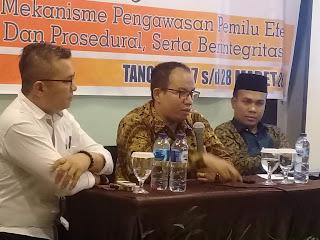 Vifner Ajak Panwascam di Padang Pariaman, Fokuskan Pengawasan Pada Pungut Hitung Tanggal 17 April 2019