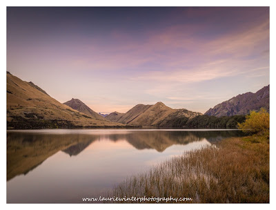 Moke Lake, Queenstown, Reflections, Sunset