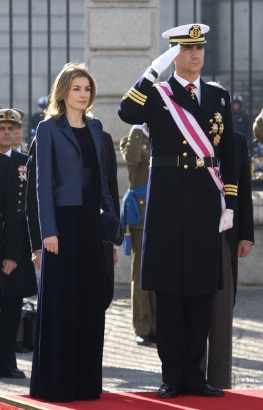 Royals & Style: Pascua militar, Madrid